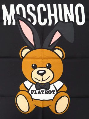 Moschino: scarves online - Ready to Bear silk scarf