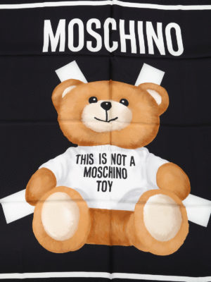 Moschino: scarves online - This is not a Moschino toy scarf