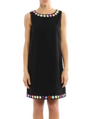 Moschino: short dresses online - Mirror appliques dress