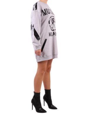 Moschino: short dresses online - Sweatshirt style short dress