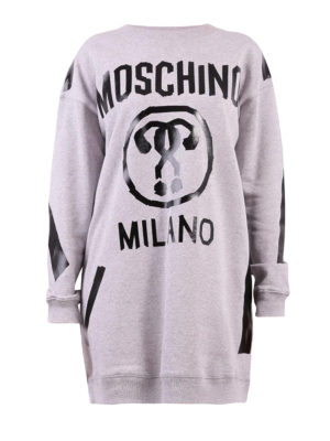 Moschino: short dresses - Sweatshirt style short dress