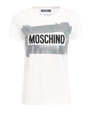 Moschino: t-shirts - Logo print T-shirt