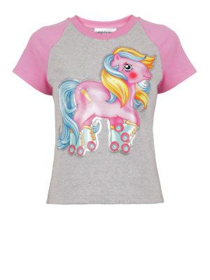 Moschino: t-shirts - My Little Pony print cotton T-shirt