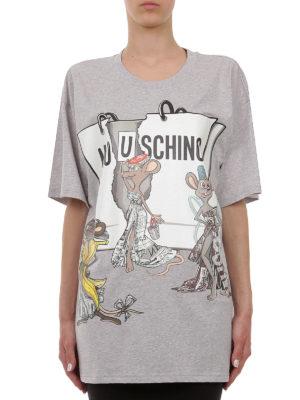 Moschino: t-shirts online - Mo(u)schino maxi T-shirt