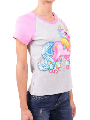 Moschino: t-shirts online - My Little Pony print cotton T-shirt