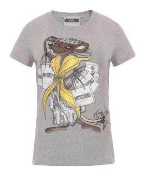 Moschino: t-shirts - Rat-à-porter T-shirt