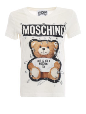 MOSCHINO: t-shirt - T-shirt bianca This is not a Moschino Toy