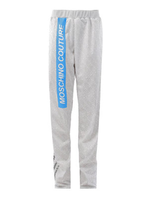 Moschino: tracksuit bottoms - Printed loose track bottoms