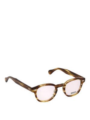 MOSCOT: Occhiali - Occhiali da vista Lemtosh effetto bamboo