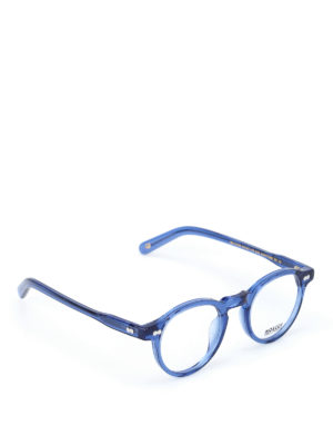 Moscot: glasses - Miltzen blue optical glasses