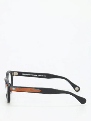 Moscot: glasses online - Lemtosh wood optical glasses