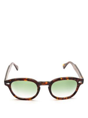 MOSCOT: occhiali da sole online - Occhiali Lemtosh tartaruga lenti verdi chiare