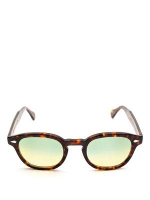 MOSCOT: occhiali da sole online - Occhiali Lemtosh tartaruga lenti verdi gialle