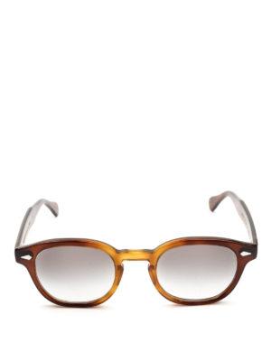 MOSCOT: occhiali da sole online - Occhiali Lemtosh tabacco con lenti grigie