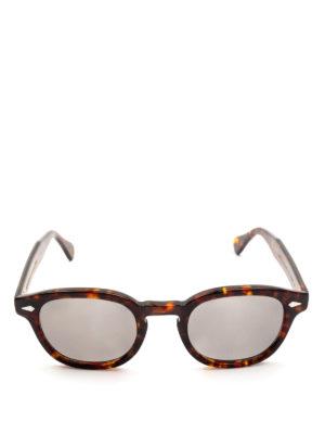 MOSCOT: occhiali da sole online - Occhiali Lemtosh tartaruga con lenti grigie