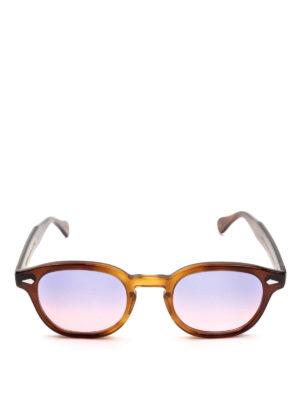 MOSCOT: occhiali da sole online - Occhiali Lemtosh tabacco lenti lilla rosa