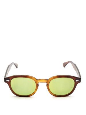 MOSCOT: occhiali da sole online - Occhiali Lemtosh tabacco lenti verde acido