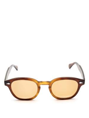 MOSCOT: occhiali da sole online - Occhiali Lemtosh tabacco con lenti pesca