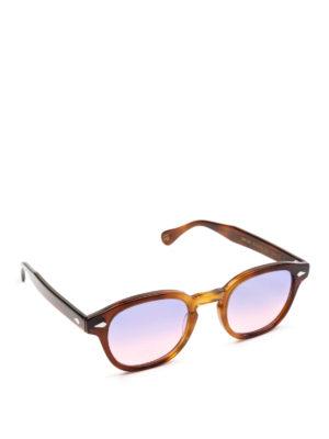 MOSCOT: occhiali da sole - Occhiali Lemtosh tabacco lenti lilla rosa