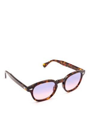 MOSCOT: occhiali da sole - Occhiali Lemtosh tartaruga lenti lilla rosa