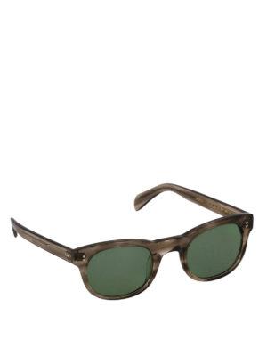 MOSCOT: occhiali da sole - Occhiali da sole Mensch color tortora