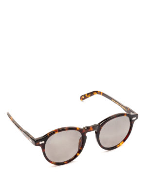 MOSCOT: occhiali da sole - Occhiali Miltzen tortoise con lenti scure.