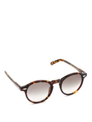 MOSCOT: occhiali da sole - Occhiali Miltzen con lenti grigie sfumate