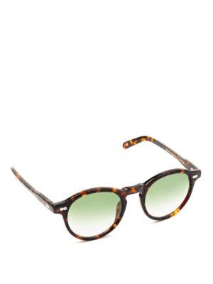 MOSCOT: occhiali da sole - Occhiali Miltzen con lenti verde chiaro