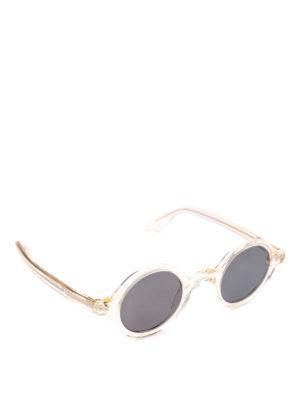 MOSCOT: occhiali da sole - Occhiali trasparenti Zolman con lenti tonde