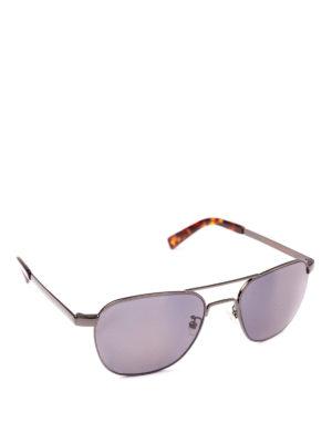 MOSCOT: occhiali da sole - Occhiali Zulu con doppio ponte in metallo