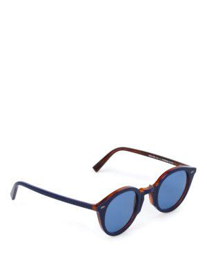 Movitra: sunglasses - Sunglasses with blue lenses