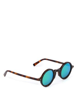 Movitra: sunglasses - Sunglasses with green lenses