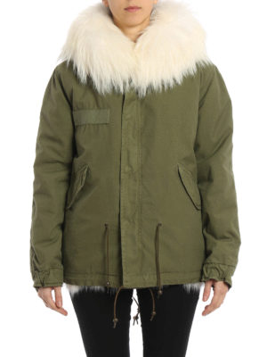 Mr & Mrs Italy: parkas online - Patch Fox Army Mini Parka