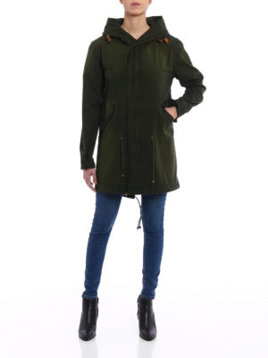 Mr & Mrs Italy: parkas online - Water resistant cotton parka