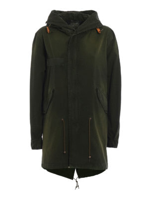 Mr & Mrs Italy: parkas - Water resistant cotton parka