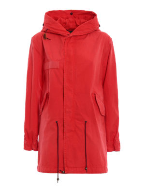 Mr & Mrs Italy: trench coats - France waterproof canvas parka