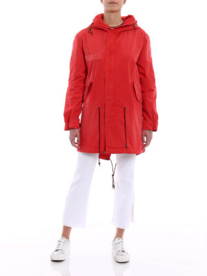 Mr & Mrs Italy: trench coats online - France waterproof canvas parka
