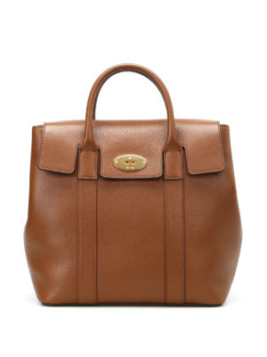 Mulberry: backpacks - Bayswater leather small backpack