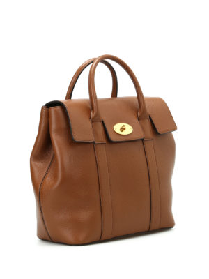 Mulberry: backpacks online - Bayswater leather small backpack