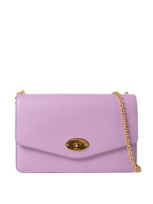 Mulberry: clutches - Darley grain leather clutch