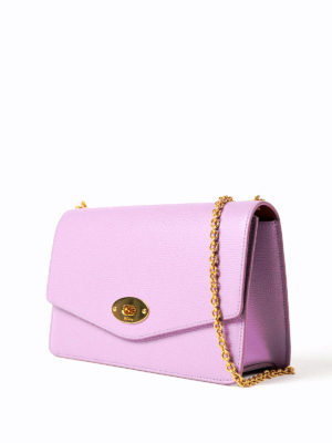 Mulberry: clutches online - Darley grain leather clutch