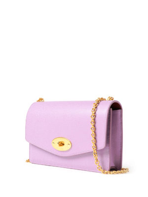 Mulberry: clutches online - Darley lilac leather small clutch