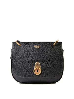 Mulberry: cross body bags - Amberley grained leather mini bag