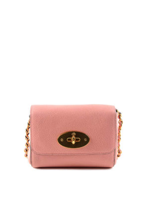 Mulberry: cross body bags - Lily leather mini crossbody bag