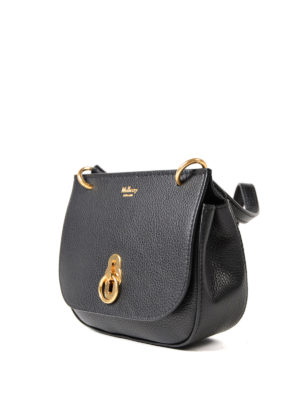 Mulberry: cross body bags online - Amberley grained leather mini bag