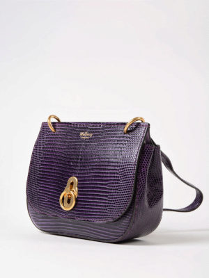 Mulberry: cross body bags online - Amberley lizard print mini bag