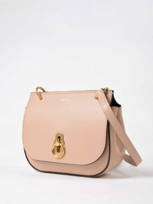 Mulberry: cross body bags online - Amberley rose leather mini bag