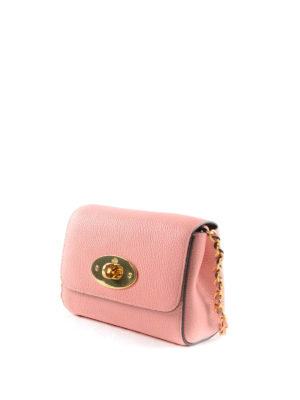 Mulberry: cross body bags online - Lily leather mini crossbody bag