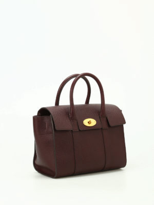 Mulberry: cross body bags online - Small Bayswater leather bag