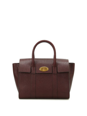 Mulberry: cross body bags - Small Bayswater leather bag